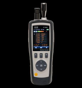 CEM DT-9881M 6-kanaals fijnstofmeter