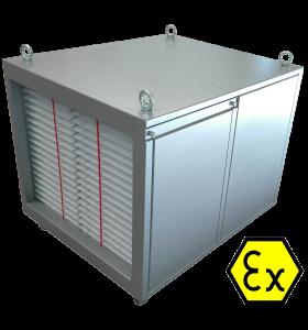 luchtzuiveringssysteemATEX explosieveilig