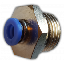 """Verloopkoppeling 6mm insteek x 1/2"""" t.b.v. Idealin luchtbevochtigers"""