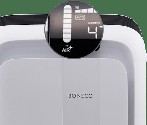 Boneco H680 weergave luchtkwaliteit
