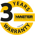 Master 3 jaar garantie