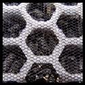 Actieve kool filter van dichtbij