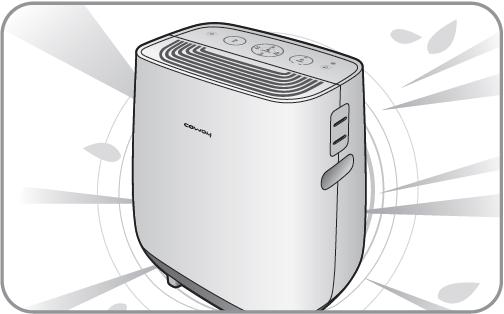 Coway APMS-0815C luchtreiniger met bevochtiging