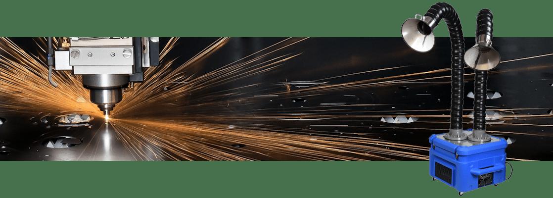 Lasercutter afzuiger
