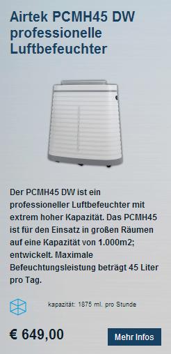 Airtek PCMH45 DW