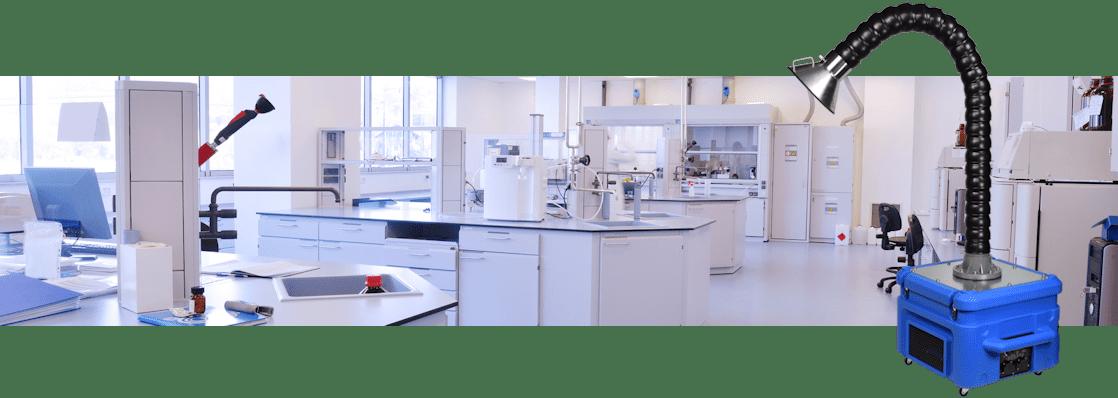 laboratorium afzuiger