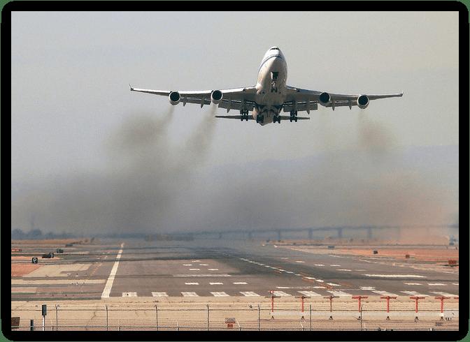 luchtvervuiling luchtvaart