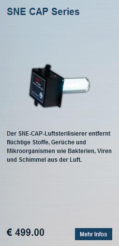 Luftaufbereitungssystem Reiniger SNE CAP