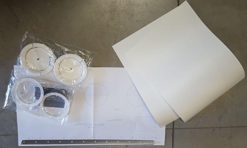 Montagemateriaal Innova Monoblok airco