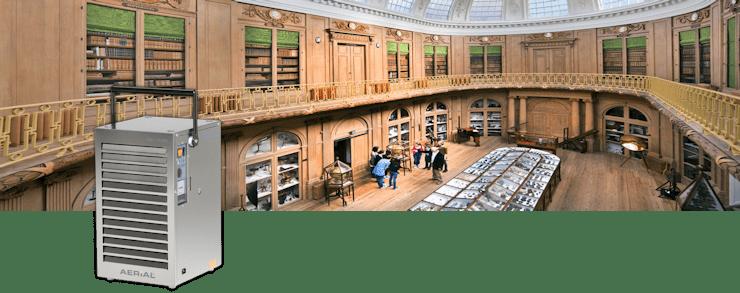 museum ontvochtiger