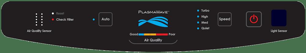 Bedieningspaneel Winix P450 luchtreiniger