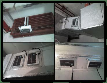HVAC luchtreiniging voor luchtkanalen